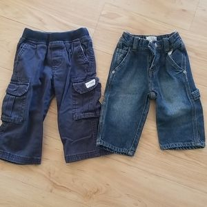 2 pairs of Children's Place 9-12 month pants
